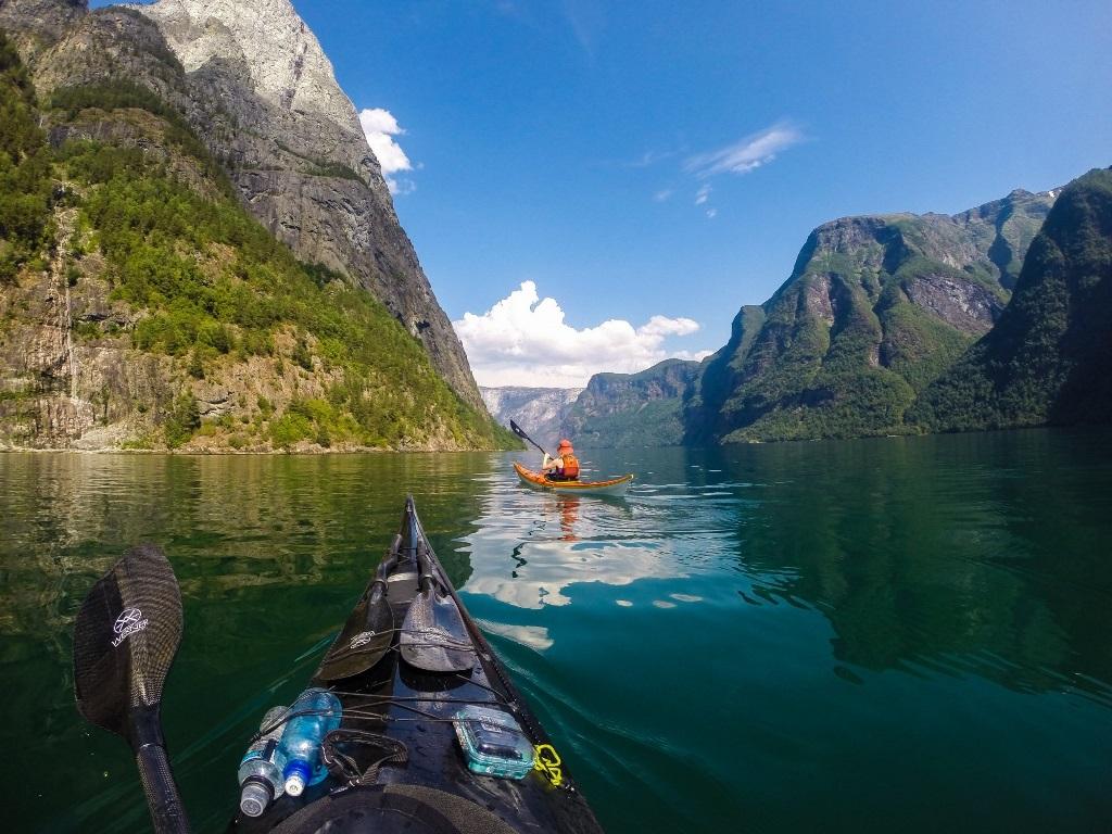 Po Norvegii na bajdarke 2 По Норвегии на байдарке