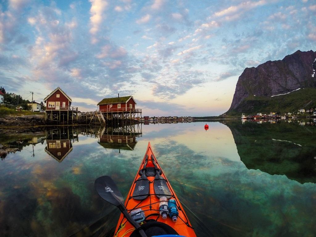 Po Norvegii na bajdarke 4 По Норвегии на байдарке