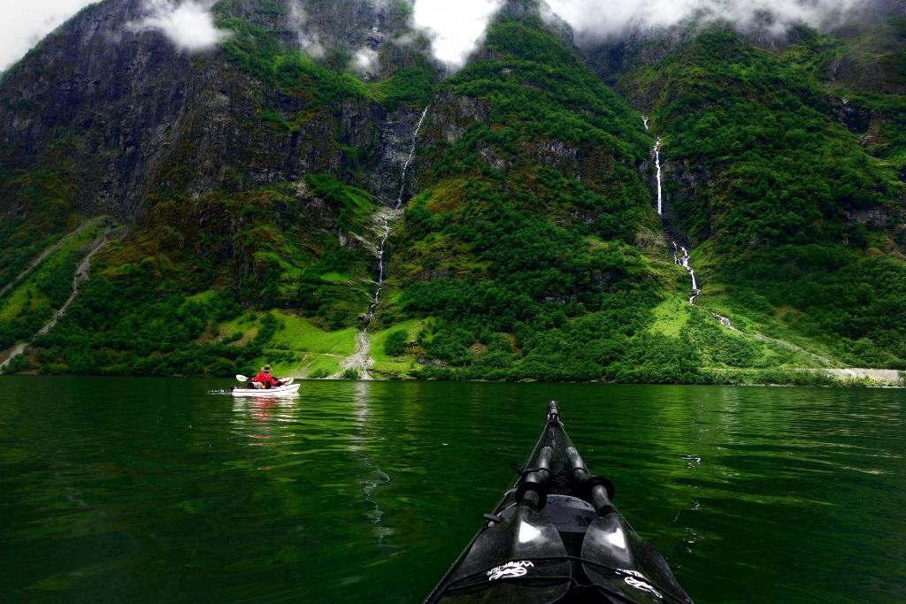 Po Norvegii na bajdarke 5 По Норвегии на байдарке