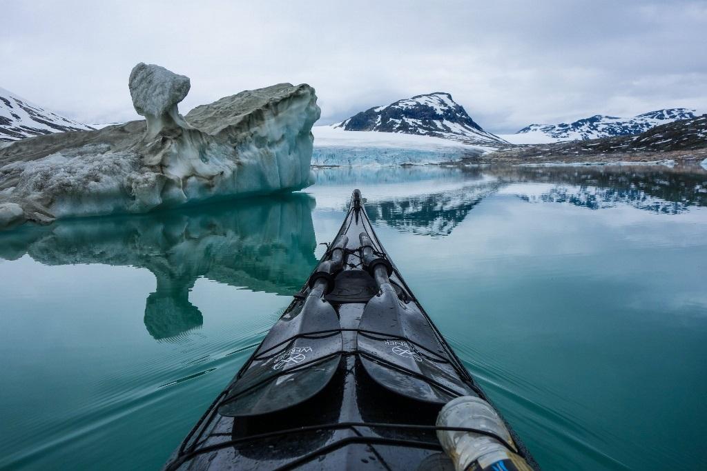 Po Norvegii na bajdarke 6 По Норвегии на байдарке