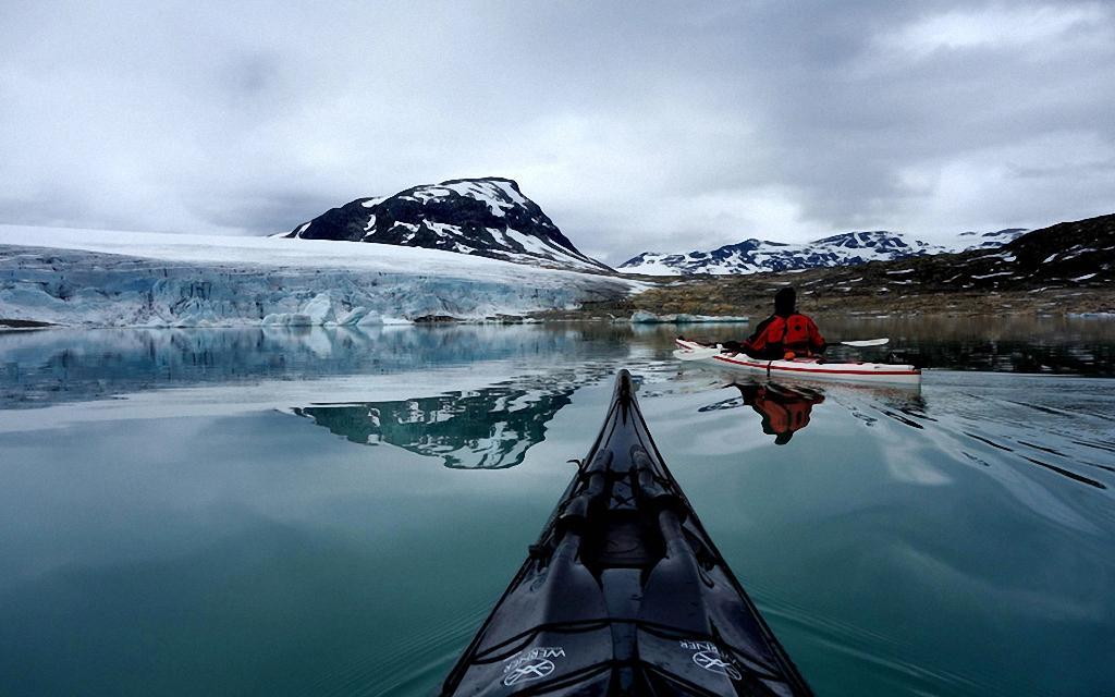 Po Norvegii na bajdarke 9 По Норвегии на байдарке