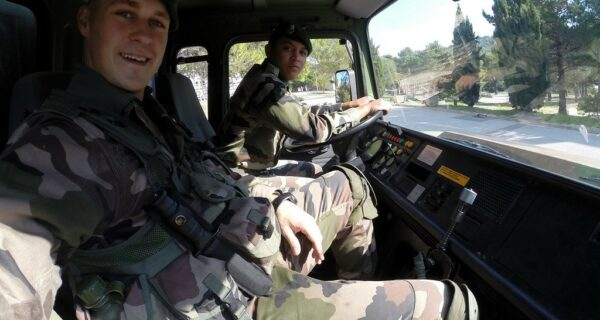 Один день солдата Французского иностранного легиона