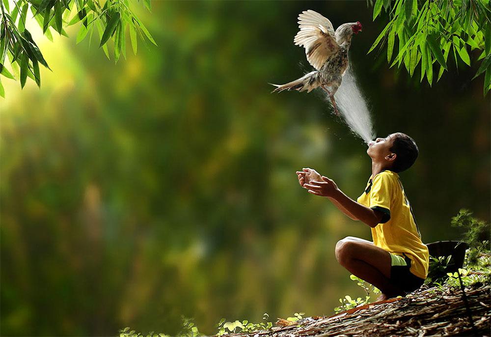 Гармония человека и природы фото