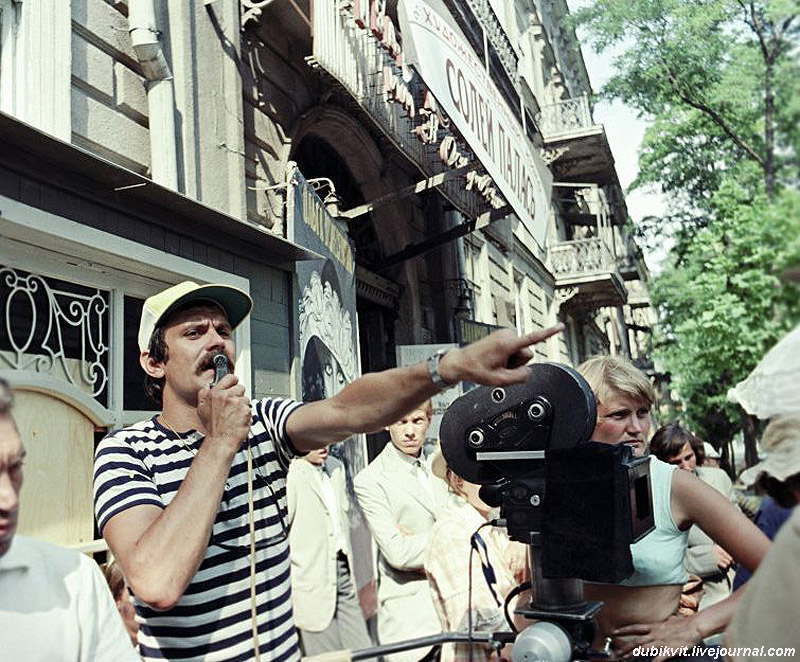 onset08 На съемочных площадках популярных советских фильмов