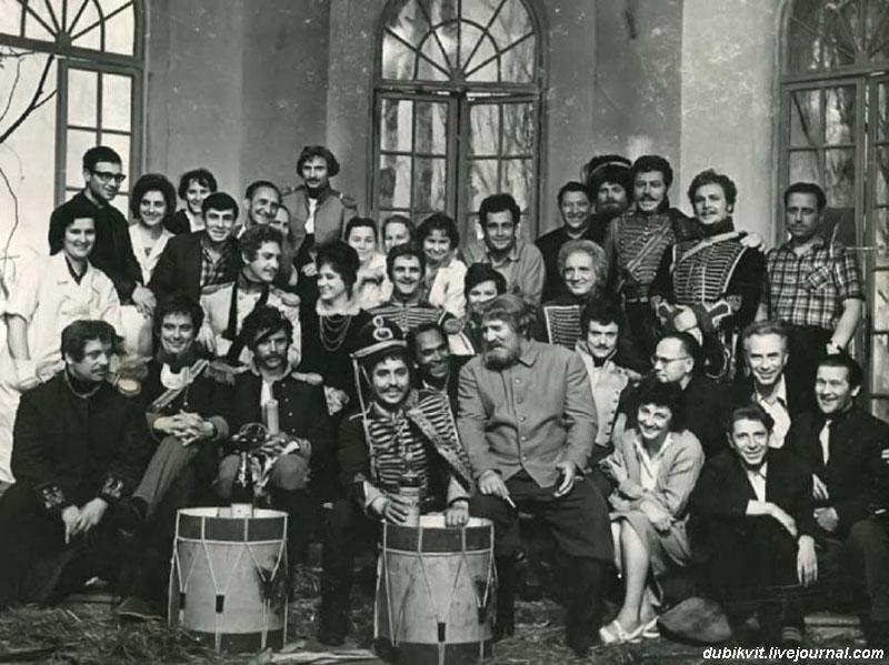 onset14 На съемочных площадках популярных советских фильмов