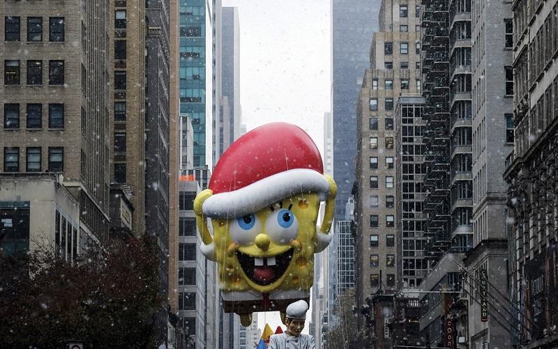 parad Macys 0 Парад Дня благодарения Macy's в Нью Йорке