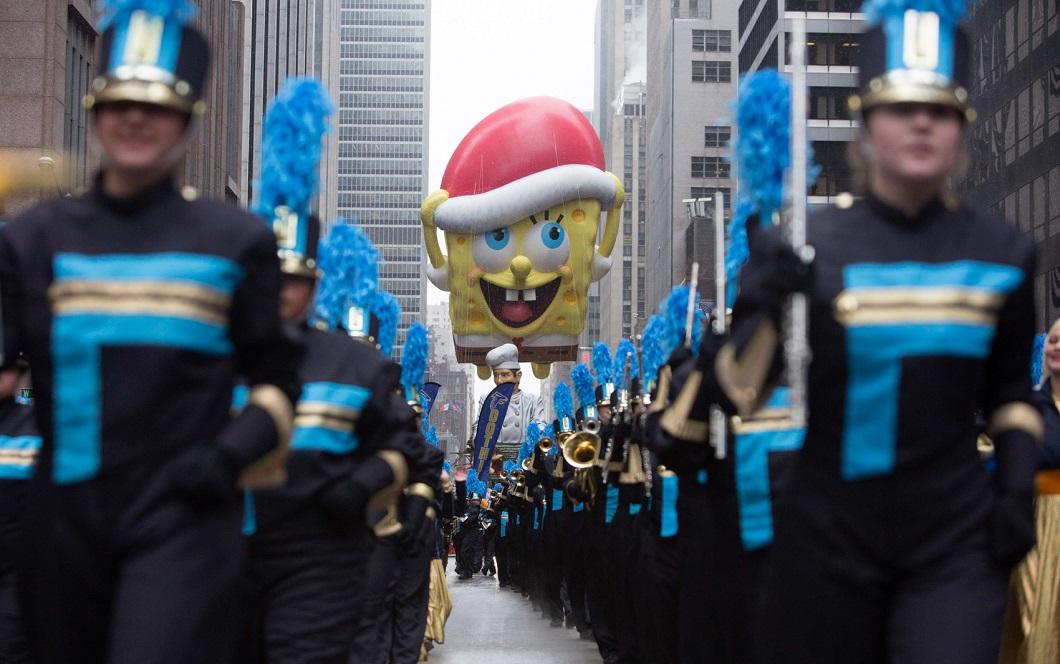 parad Macys 10 Парад Дня благодарения Macy's в Нью Йорке