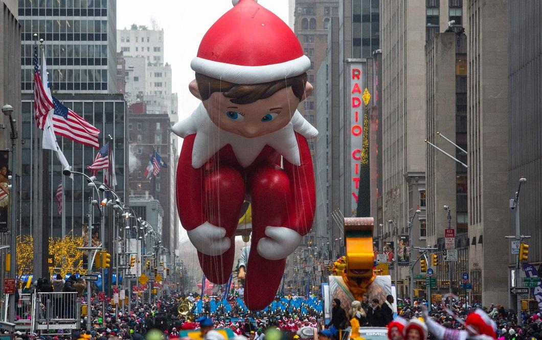 parad Macys 12 Парад Дня благодарения Macy's в Нью Йорке