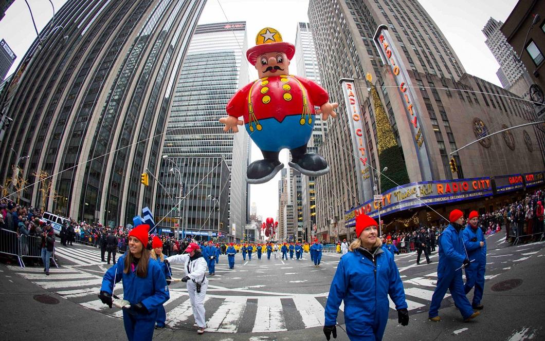 parad Macys 14 Парад Дня благодарения Macy's в Нью Йорке