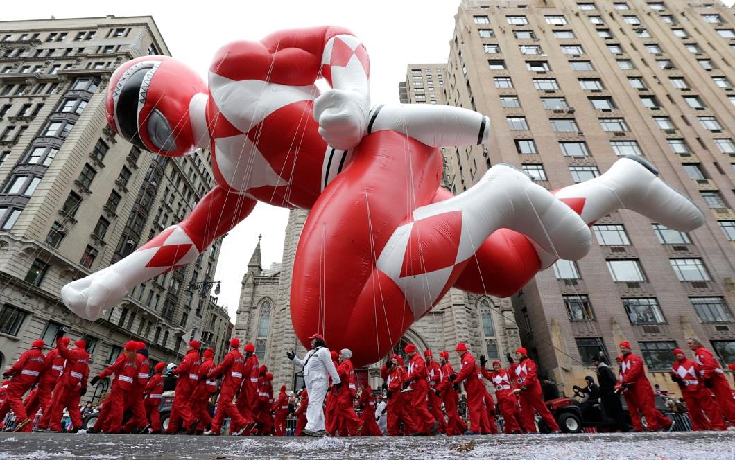 parad Macys 16 Парад Дня благодарения Macy's в Нью Йорке