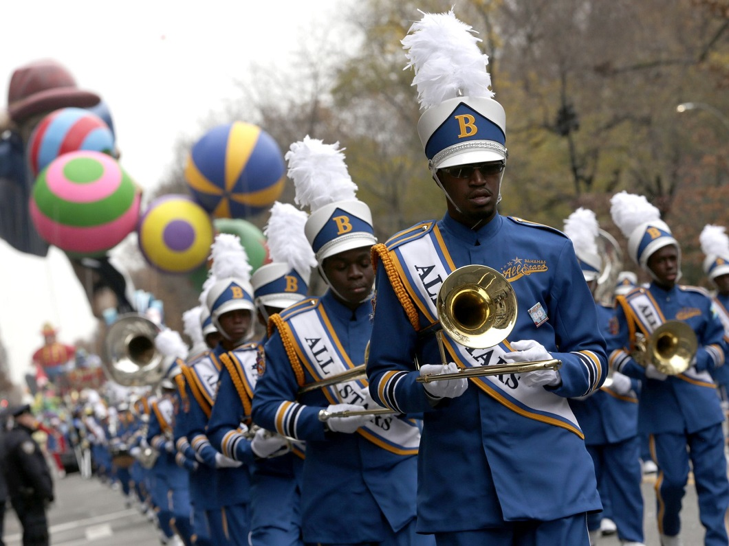 parad Macys 17 Парад Дня благодарения Macy's в Нью Йорке