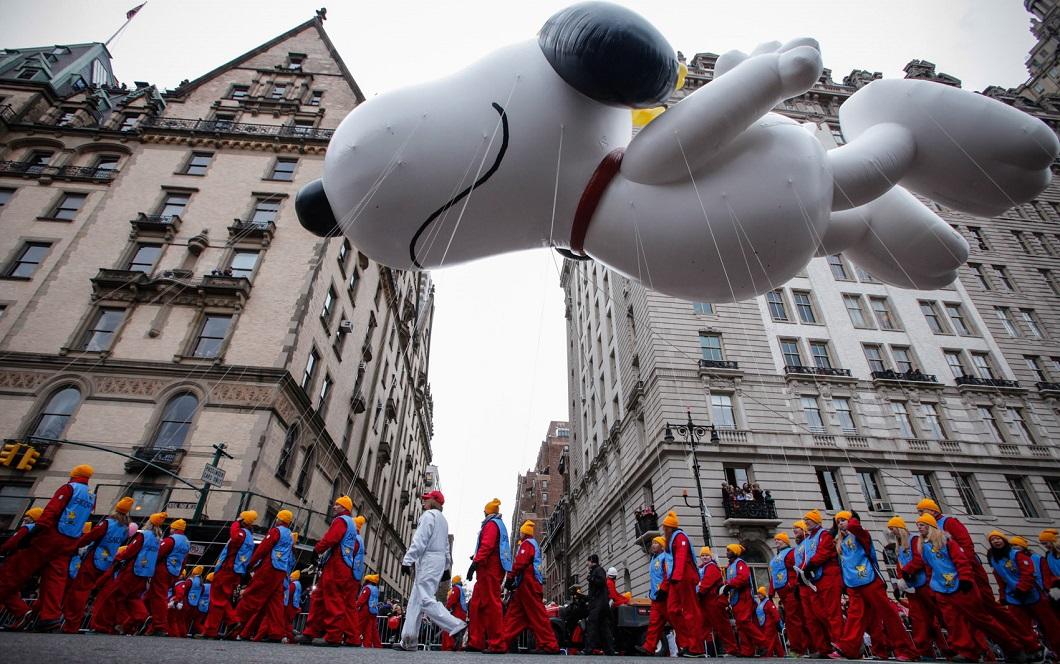 parad Macys 4 Парад Дня благодарения Macy's в Нью Йорке