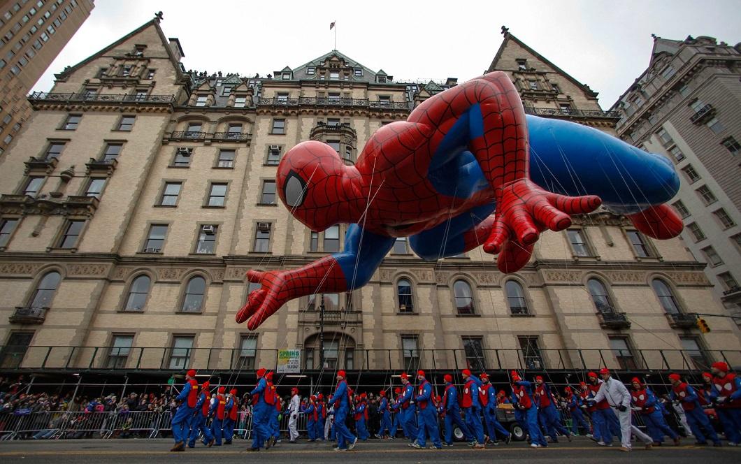 parad Macys 5 Парад Дня благодарения Macy's в Нью Йорке