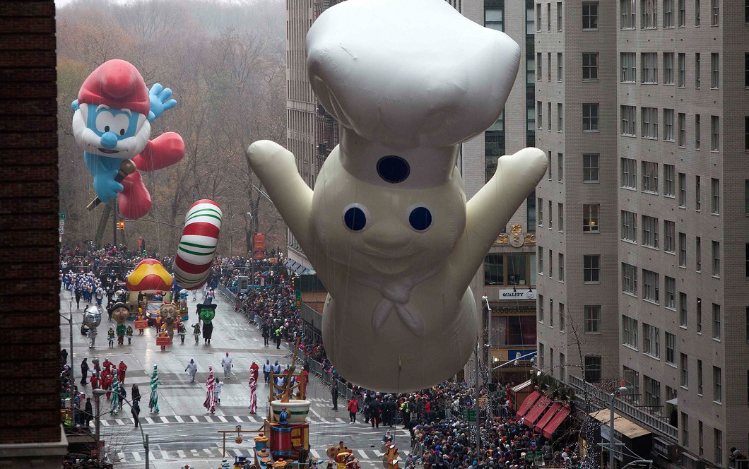 parad Macys 6 Парад Дня благодарения Macy's в Нью Йорке