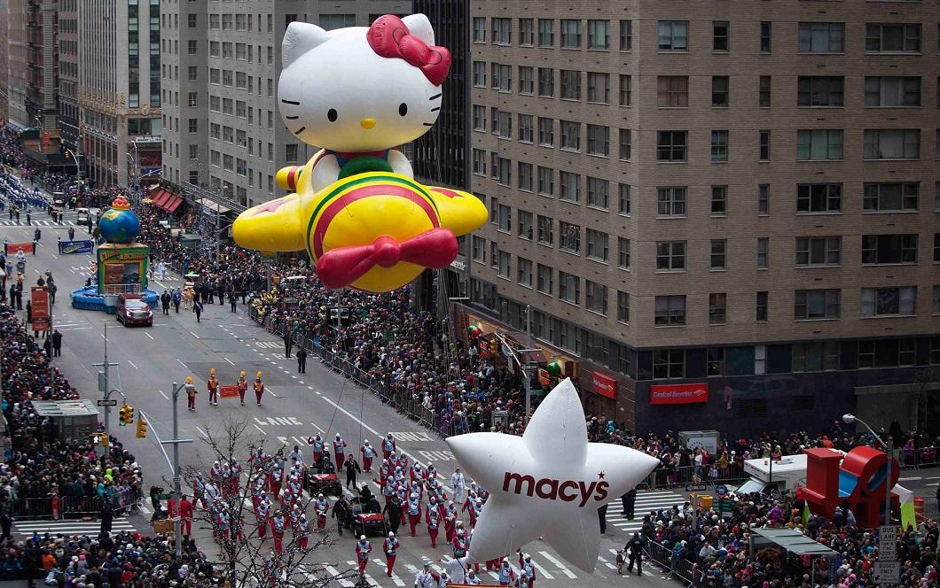 parad Macys 7 Парад Дня благодарения Macy's в Нью Йорке