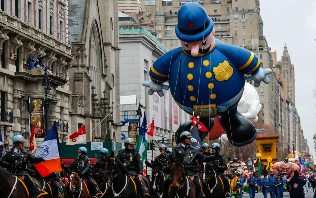 parad Macys 8 Парад Дня благодарения Macy's в Нью Йорке