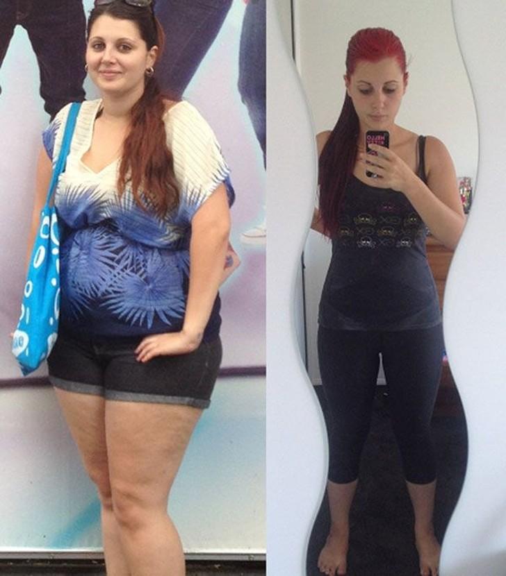Сайт Девушек Которые Похудели. Девушки, которым удалось похудеть (34 фото)