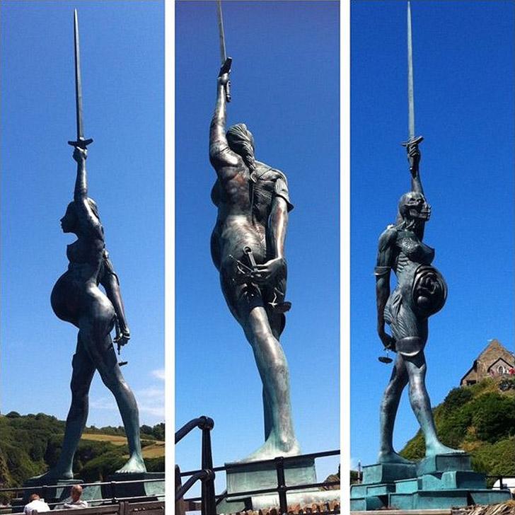 weirdstatues21 29 самых отвратительных и нелепых статуй со всего света