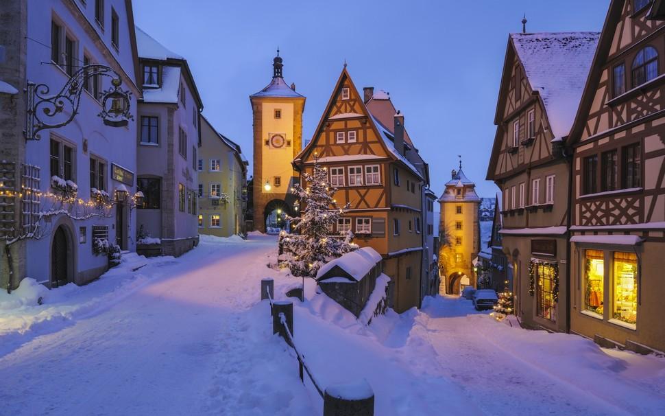wintertowns01 30 самых живописных городов этой зимы