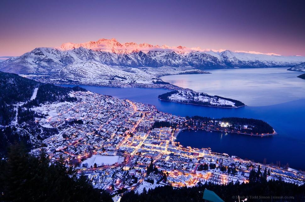 wintertowns05 30 самых живописных городов этой зимы