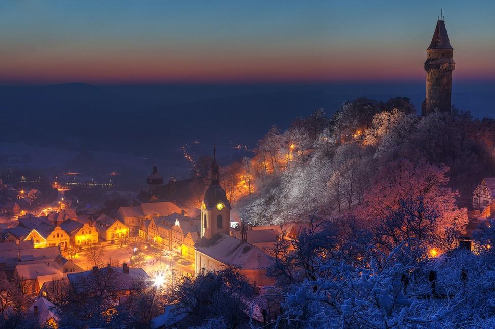 wintertowns09 30 самых живописных городов этой зимы