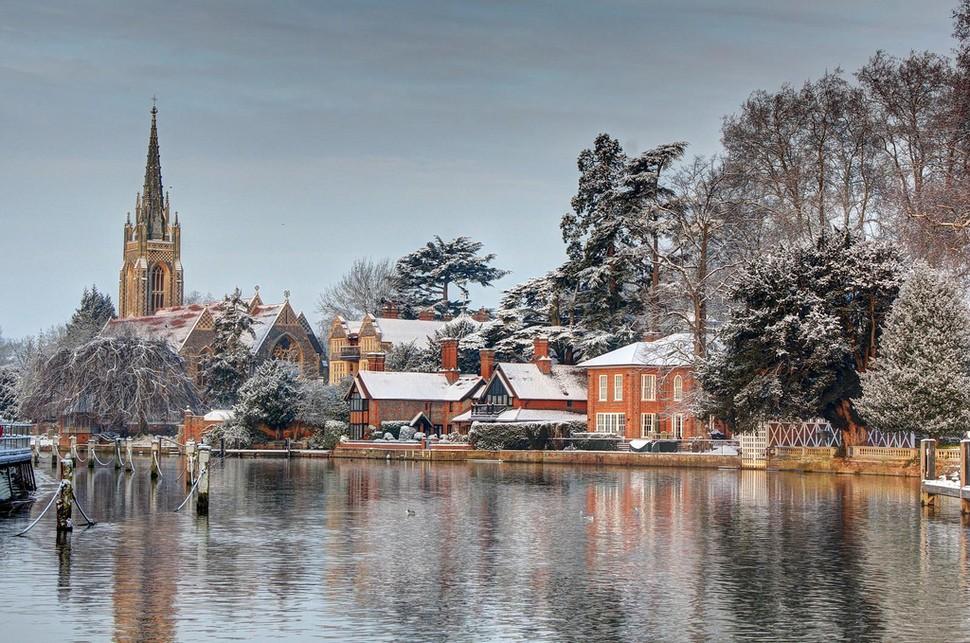 wintertowns13 30 самых живописных городов этой зимы