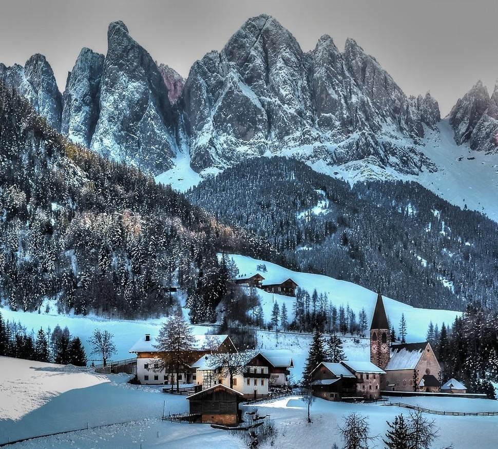 wintertowns20 30 самых живописных городов этой зимы