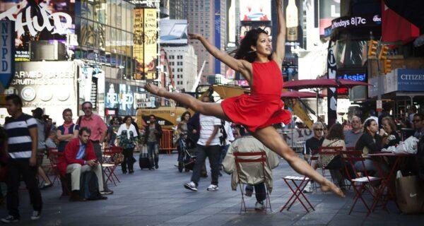 Площадь Таймс-сквер в Нью-Йорке