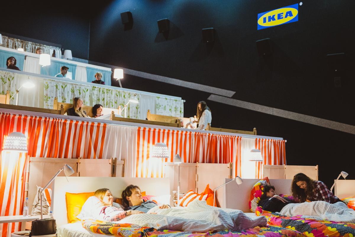138 #БУДИТЛЮБОВЬ в кинотеатре — компания ИКЕА приглашает в кино