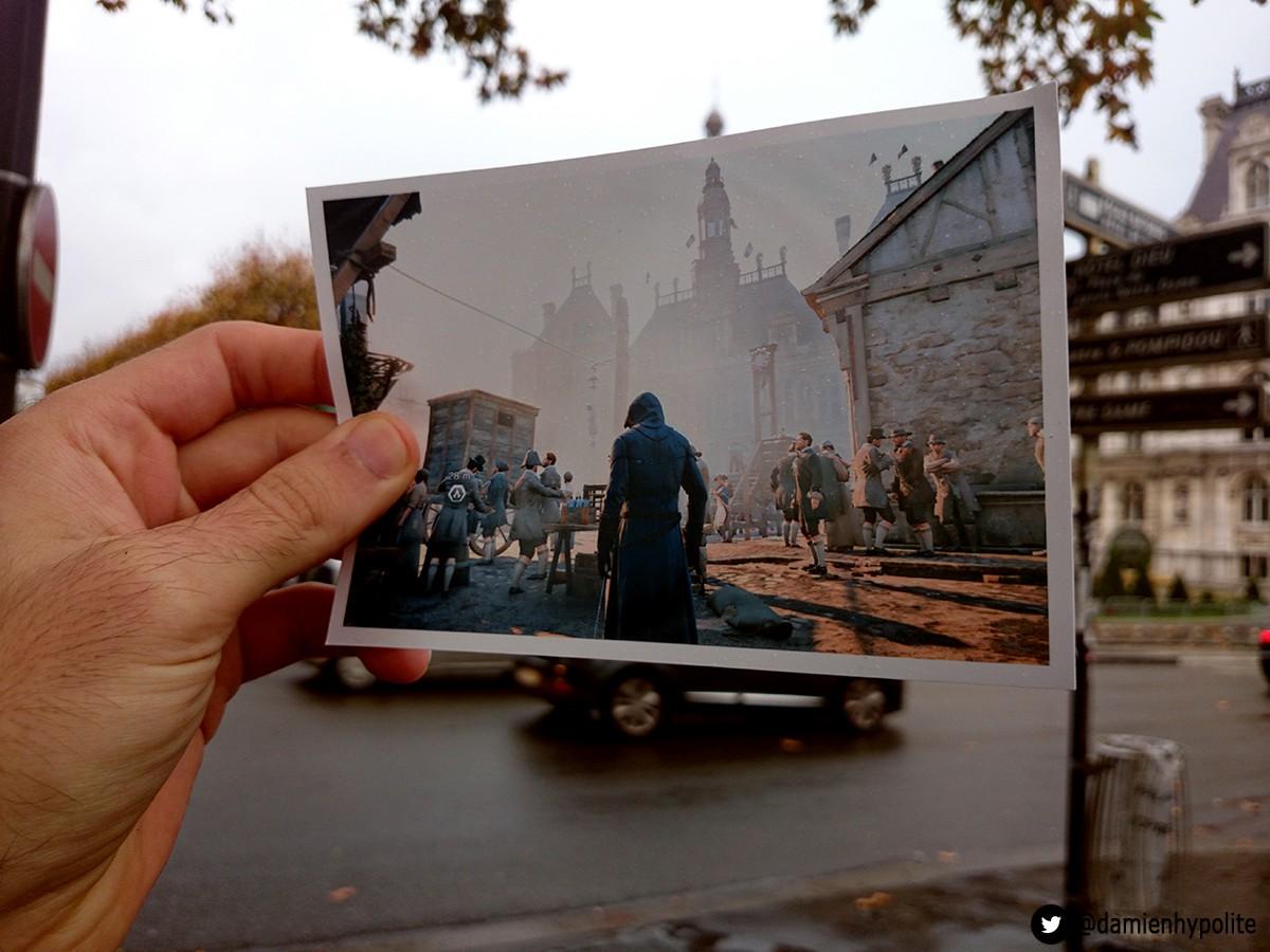 AssassinsCreed11 Фотографии реальных мест из серии Assassins Creed от Damien
