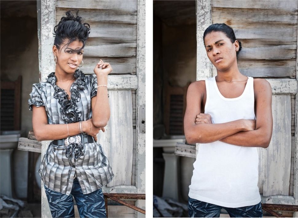 Reassign02 Кубинские транссексуалы — до и после смены пола