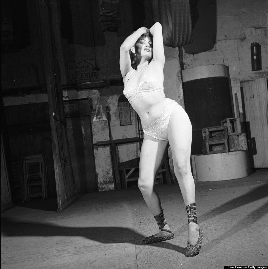burlesque01 Краткая, но потрясающая история бурлеска в 1950 х годах