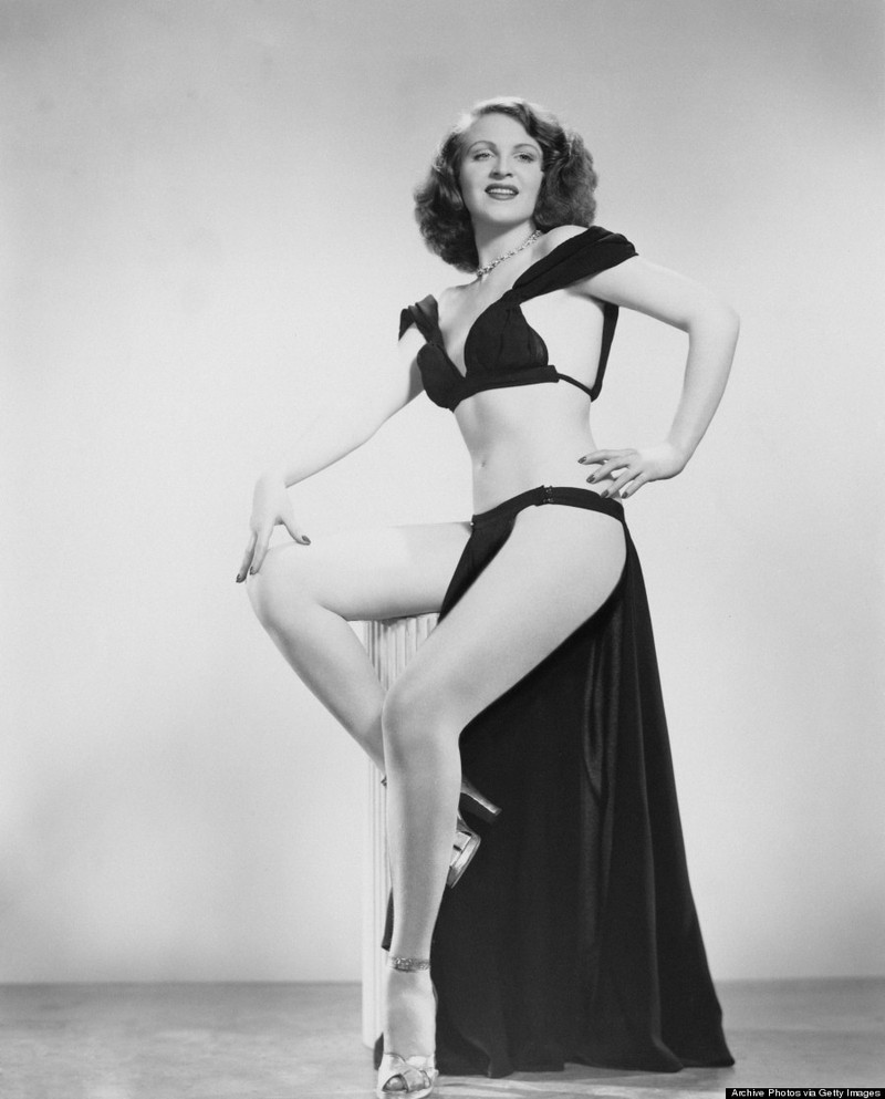 burlesque02 Краткая, но потрясающая история бурлеска в 1950 х годах