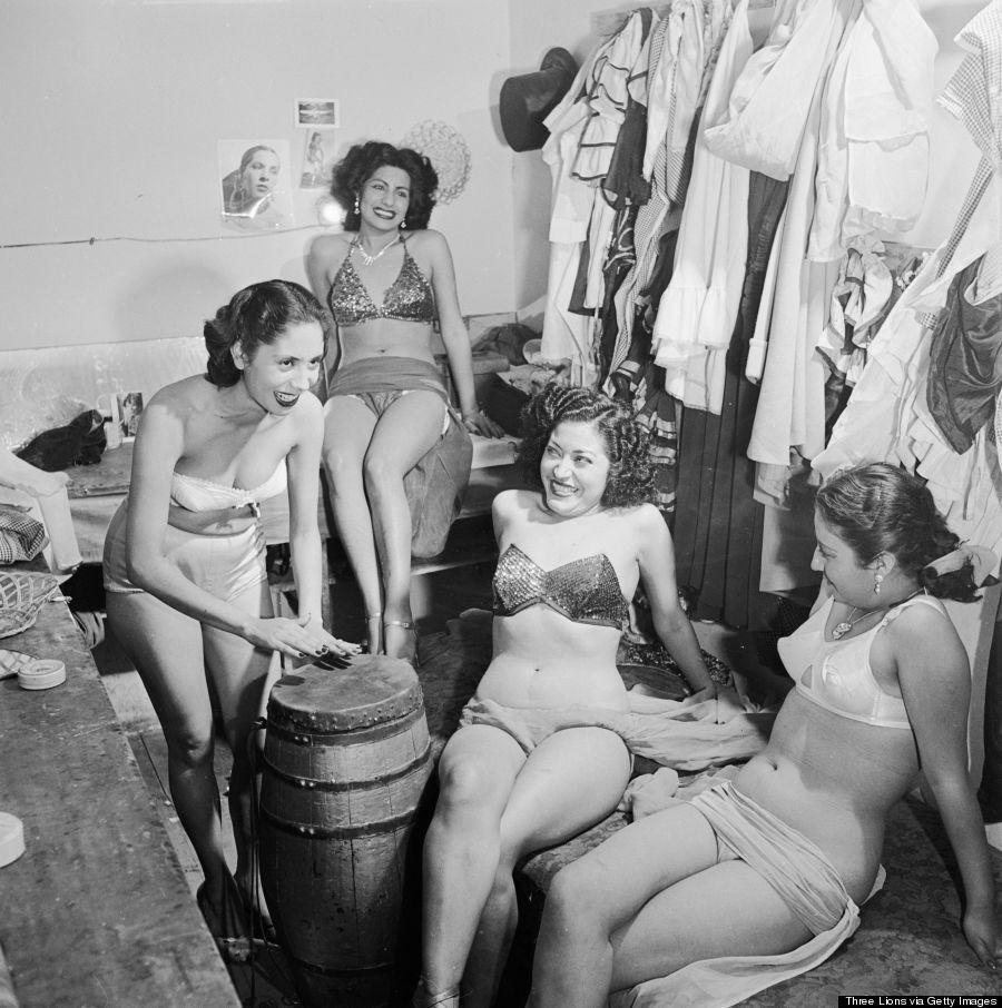 burlesque07 Краткая, но потрясающая история бурлеска в 1950 х годах