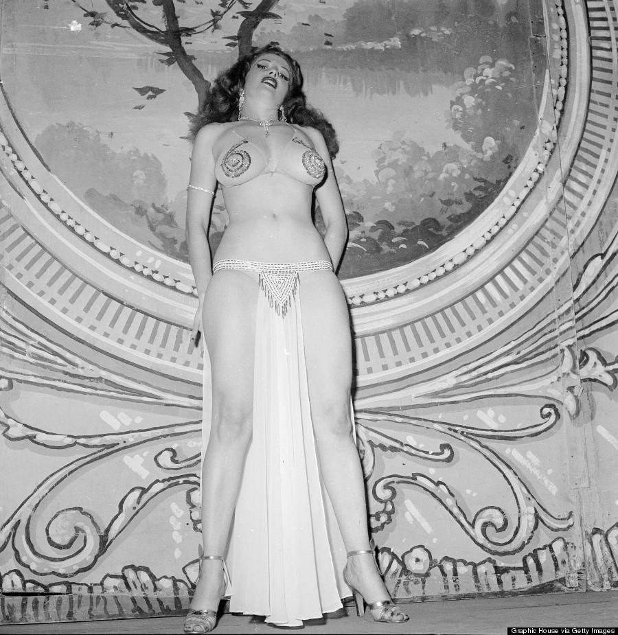burlesque12 Краткая, но потрясающая история бурлеска в 1950 х годах