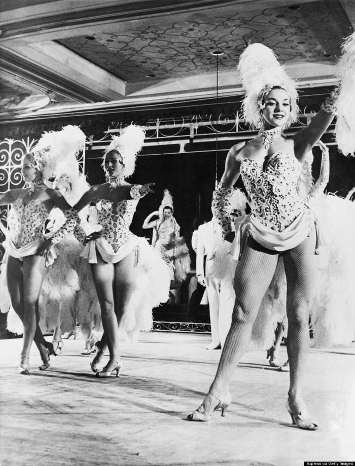 burlesque20 Краткая, но потрясающая история бурлеска в 1950 х годах