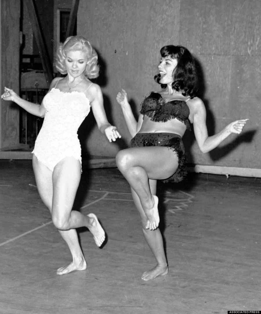 burlesque23 Краткая, но потрясающая история бурлеска в 1950 х годах