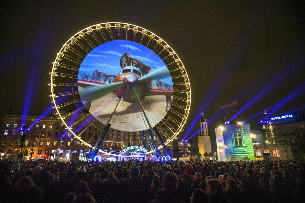 festival ogney v lione 7 Фестиваль света в Лионе