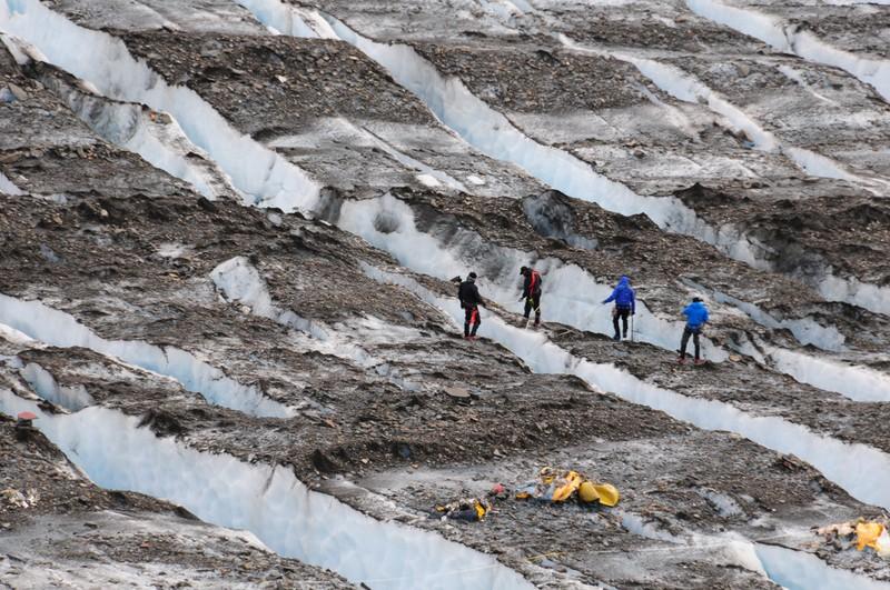 inglacier08 Самые сенсационные находки, когда либо обнаруженные в ледниках