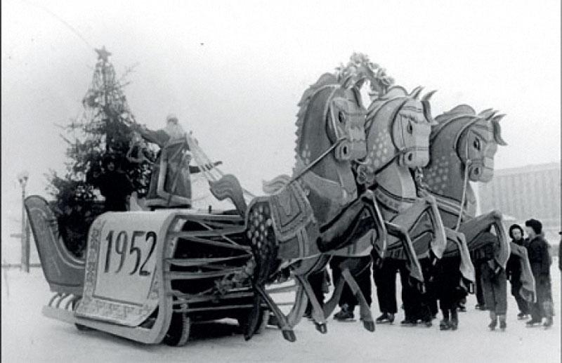 newyearin50s03 Новый год в СССР 1950 х