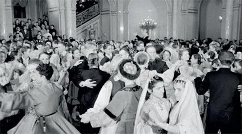 newyearin50s07 Новый год в СССР 1950 х