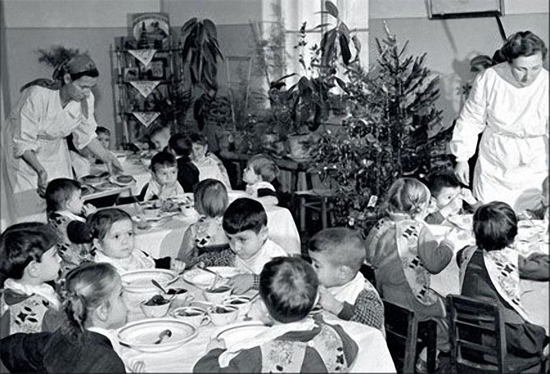 newyearin50s11 Новый год в СССР 1950 х
