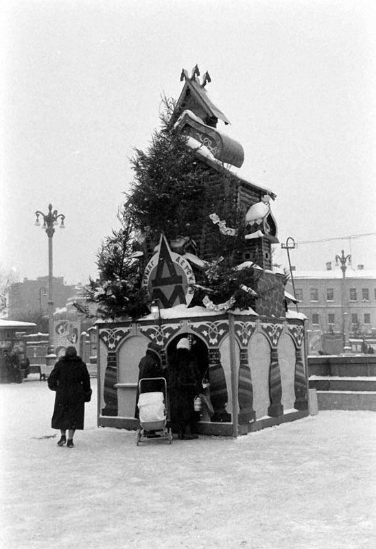 newyearin50s16 Новый год в СССР 1950 х