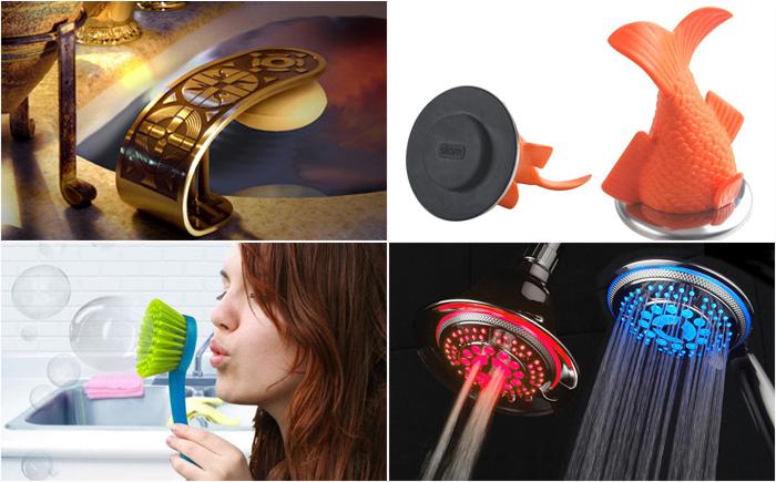 18 самых креативных аксессуаров для ванны и туалета