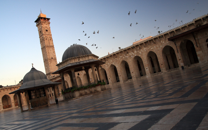заход Мир теряет Алеппо