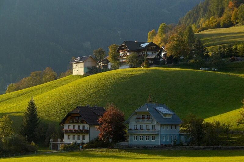 AUcommunes01 800x531 Самые красивые коммуны Австрии, которые стоит посетить