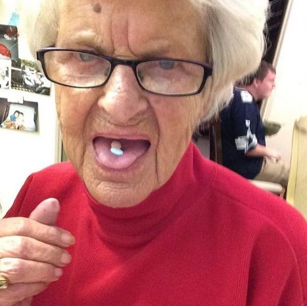 BaddieWinkle06 86 летняя «крутая» бабушка постит отвязные фото в Instagram