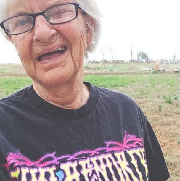 BaddieWinkle07 86 летняя «крутая» бабушка постит отвязные фото в Instagram