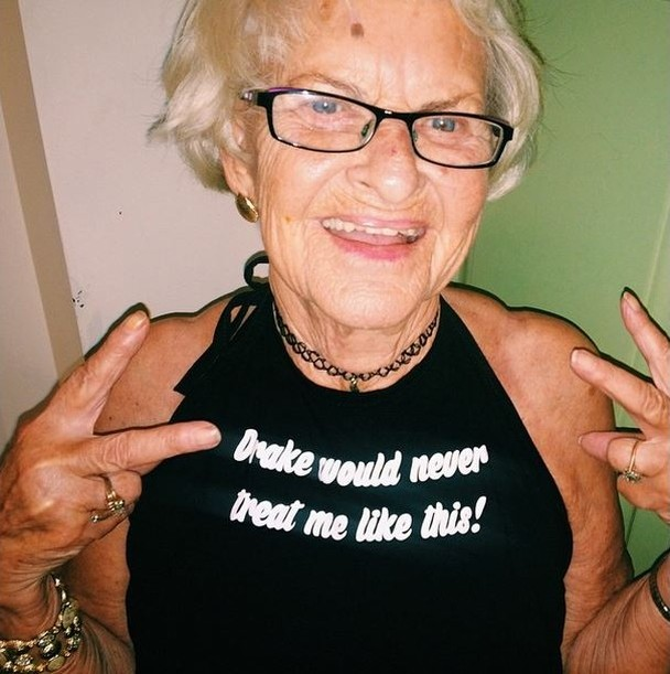 BaddieWinkle10 86 летняя крутая бабушка постит отвязные фото в Instagram