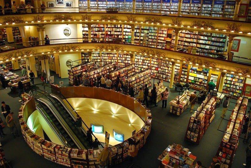 741a161cd1aa El Ateneo Grand Splendid — самый красивый книжный магазин • НОВОСТИ В  ФОТОГРАФИЯХ